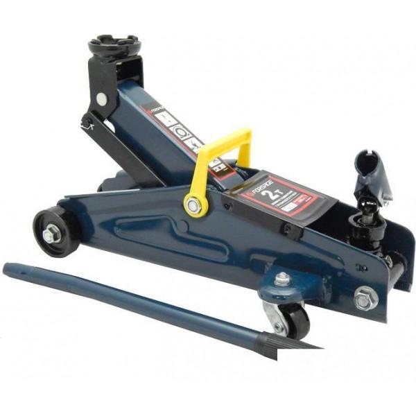 F-TH22005СB Домкрат подкатной  2 т с вращающейся ручкой 180 градусов(h min 140мм, h max 340мм,вес 9,5 кг)