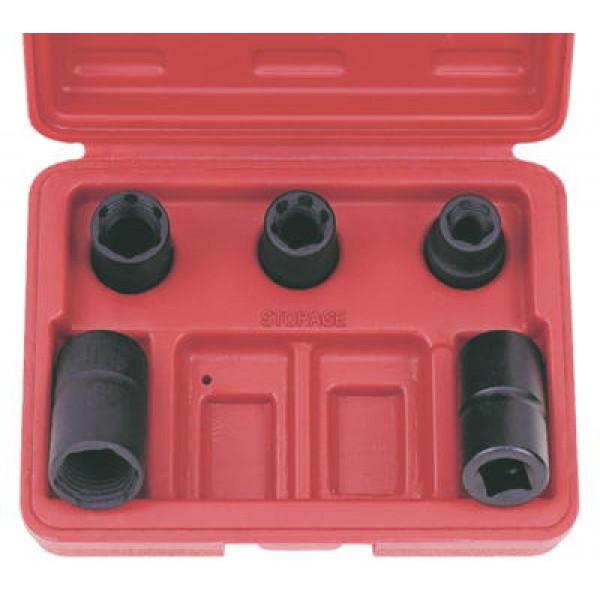 Набор глубоких спец головок для скругленного крепежа LICOTA ATF-5070