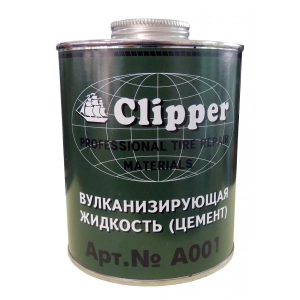 Клей-цемент зеленый 1 л. CLIPPER A001
