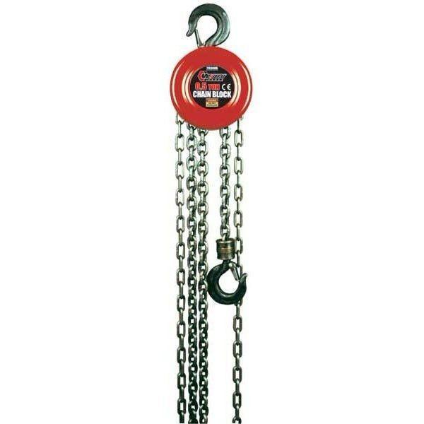 Forsage  Лебедка механическая подвесная с фиксацией цепи натяжения, 1.5т (длина цепи - 2.5м) F-TR9015