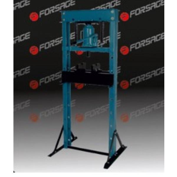 Forsage Пресс гидравлический напольный домкратного типа 20т, (рабочая высота: 0-890мм, рабочая ширина: 490мм, рабочий стол: 200х490мм, ход штока: 160мм) F-TY20009