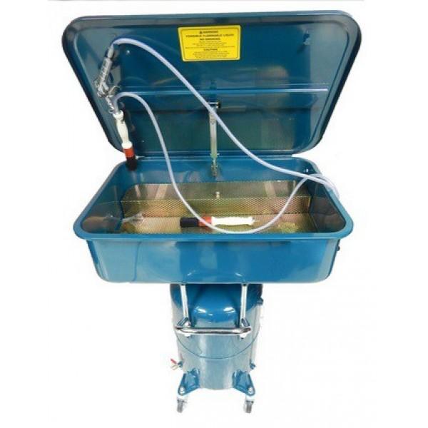 F-PDCT Forsage Мойка для деталей пневматическая с емкостью для слива 65л