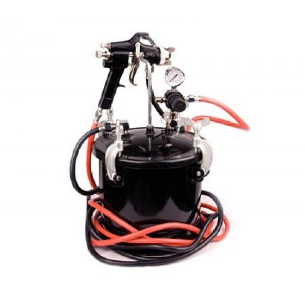 Пневмопистолет окрасочный Partner 8312 с выносной емкостью 10л (сопло 2,0мм)
