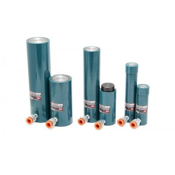 Цилиндр гидравлический 20т (ход штока - 50мм, длина общая - 176мм, давление 694 bar) F-1303-1