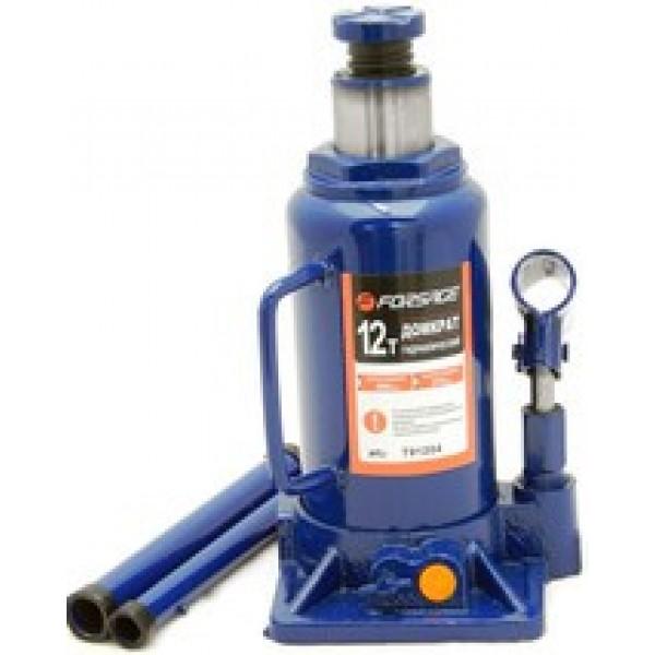 Forsage Домкрат бутылочный 12т с клапаном (h min 210мм, h max 395мм) F-T91204