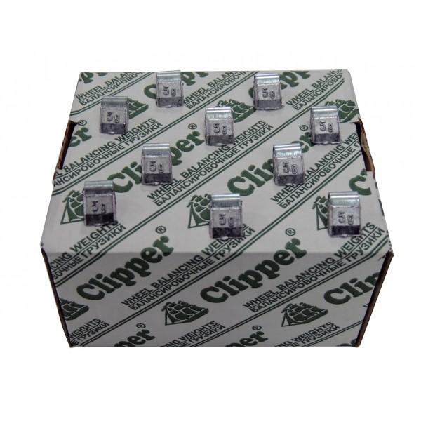 Грузик балансировочный для стального диска 5 гр. CLIPPER 0205 (НАБОР 200 ШТ.)
