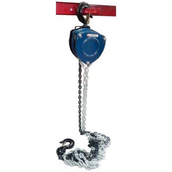 Forsage  Лебедка механическая подвесная с лепестковым механизмом фиксации цепи натяжения, 5т (длина цепи - 3м) F-TRC90501A