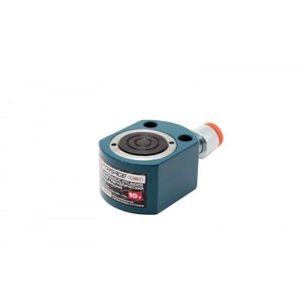 Forsage Цилиндр гидравлический низкопрофильный 10т (ход штока - 11мм, длина общая - 44мм, давление 629 bar) F-1404-1