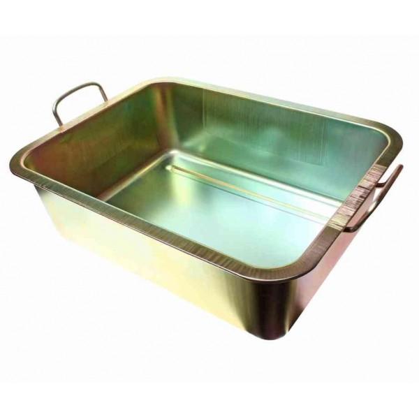 Металлический поддон для слива масла 22 литра JTC-AM48