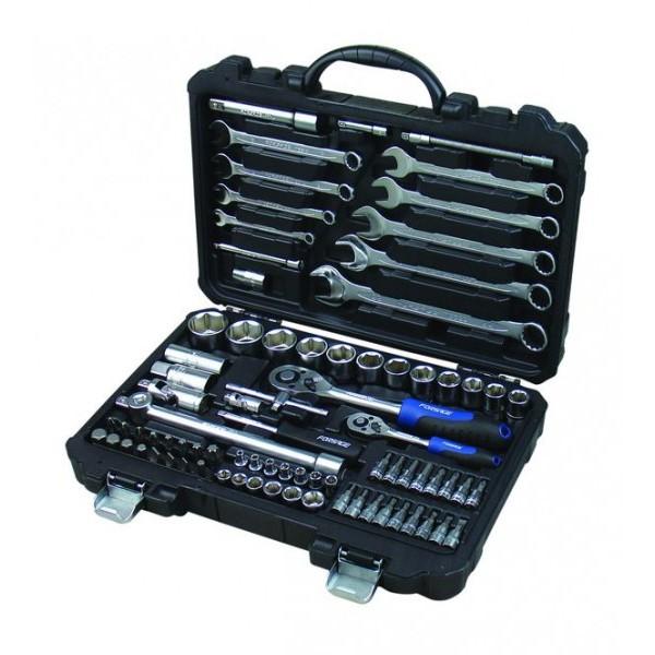 Набор инструмента Forsage F-4821-5  82 предмета (4-32мм, 6-гран.)