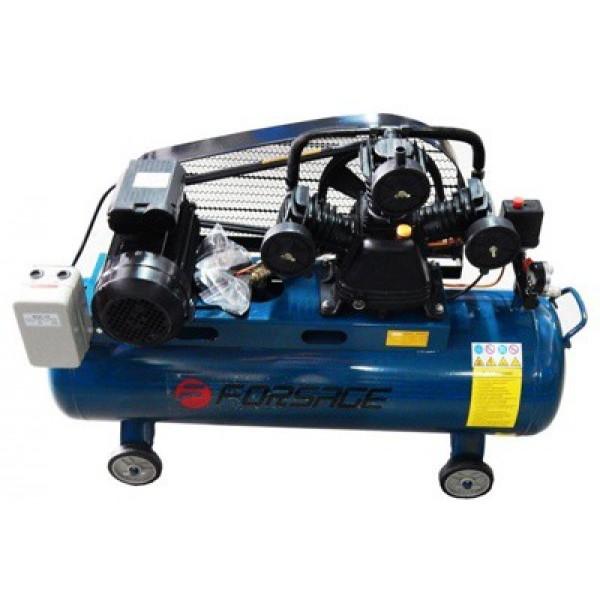 Компрессор Forsage F-TB290-150(380V) 100л 3-х поршневой с ременным приводом (3.0кВт, ресивер 100л, 360л/м, 380В)