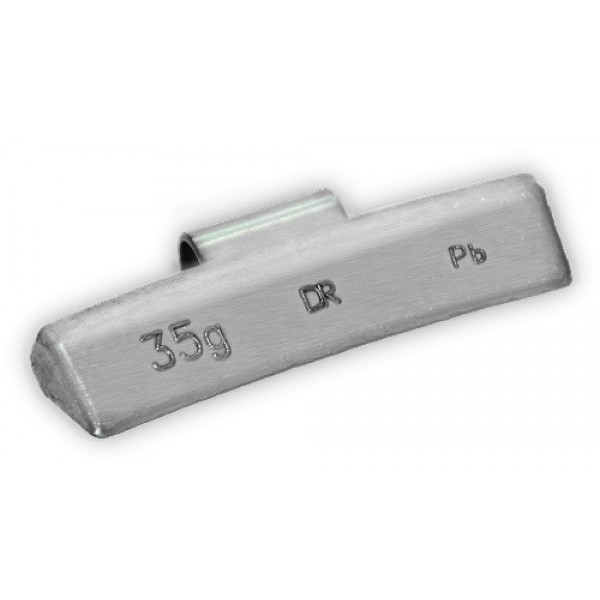Грузик балансировочный для литых дисков 35 г Dr.Reifen